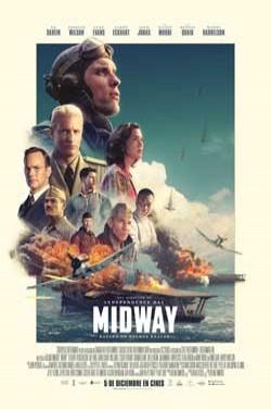 Película Midway hoy en cartelera en Cines Cristal de Lugo
