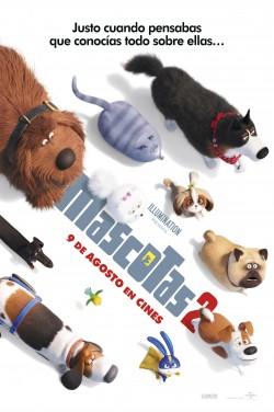 Película Mascotas 2 hoy en cartelera en Cines Cristal de Lugo