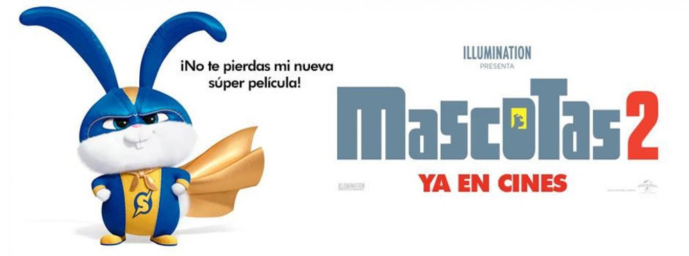 Película destacada Mascotas 2 en Cines Cristal de Lugo