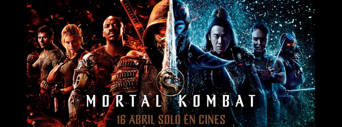 Película destacada Mortal Kombat en Cines Cristal de Lugo