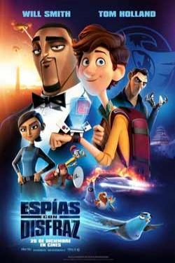 Película Espías con disfraz hoy en cartelera en Cines Cristal de Lugo