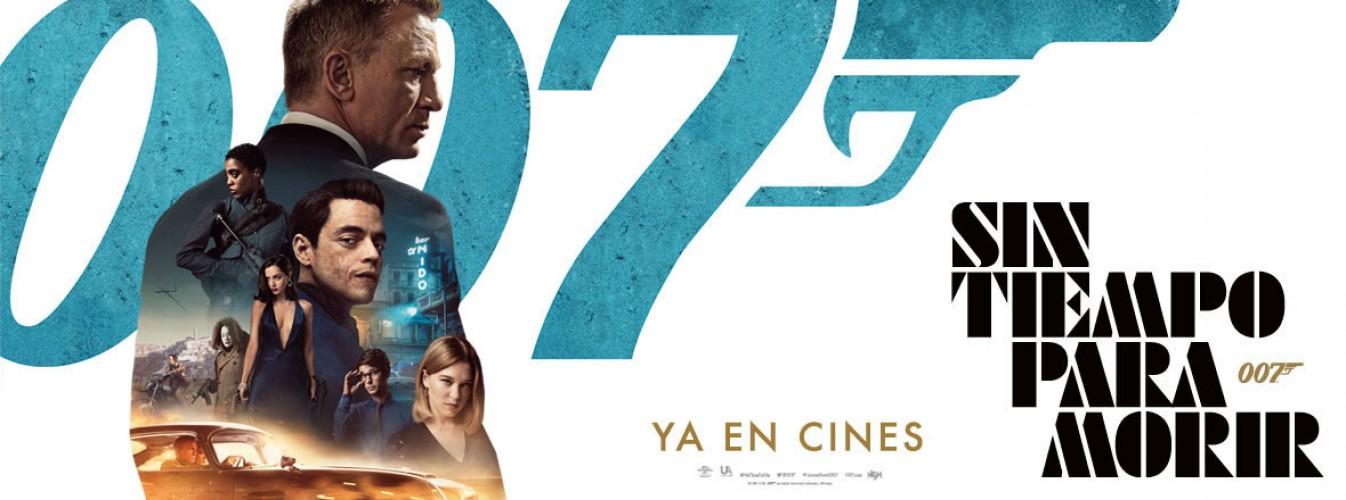 Película destacada Sin tiempo para morir en Cines Cristal de Lugo