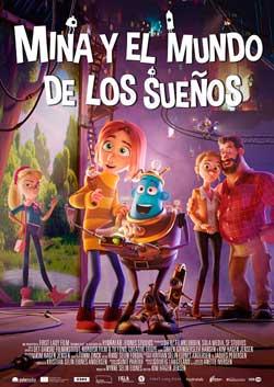 Película Mina y el mundo de los sueños en Cines Cristal Lugo