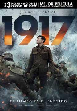 Película 1917 hoy en cartelera en Cines Cristal de Lugo