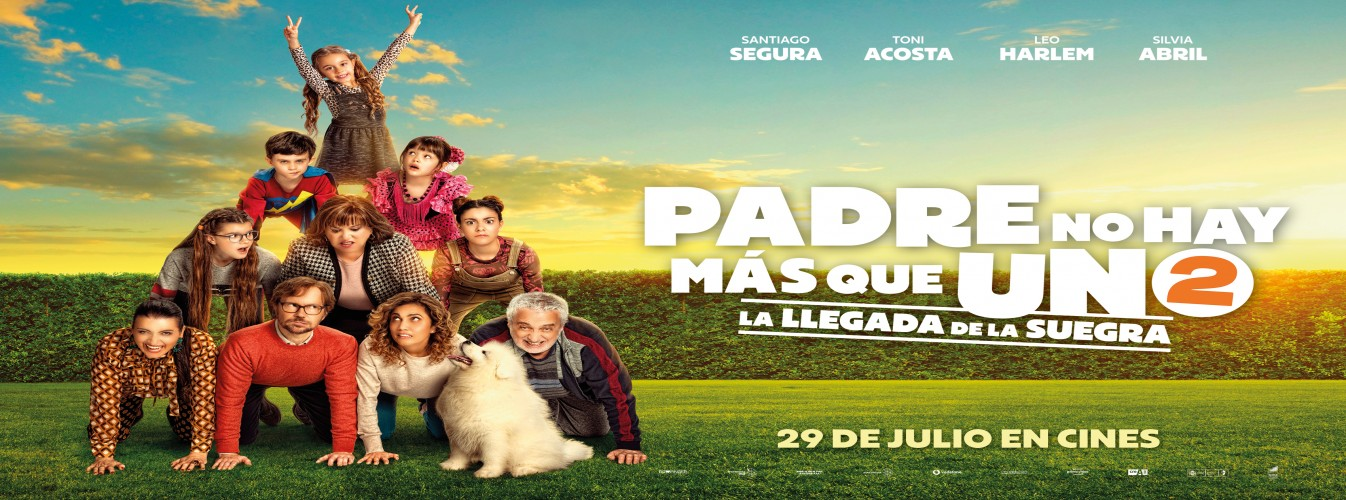Película destacada Padre no hay más que uno... 2 en Cines Cristal de Lugo