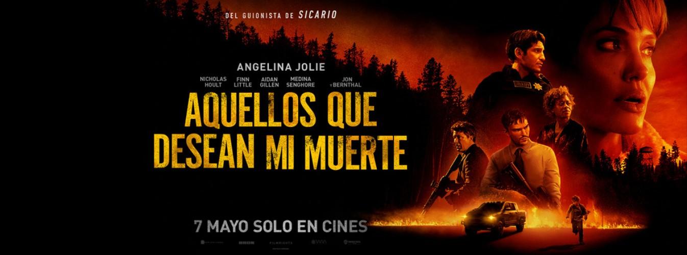 Película destacada Aquellos que desean mi muerte en Cines Cristal de Lugo