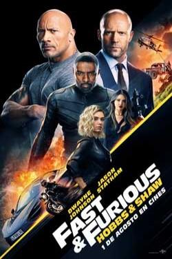 Película Fast & Furious presents: Hobbs & Shaw hoy en cartelera en Cines Cristal de Lugo