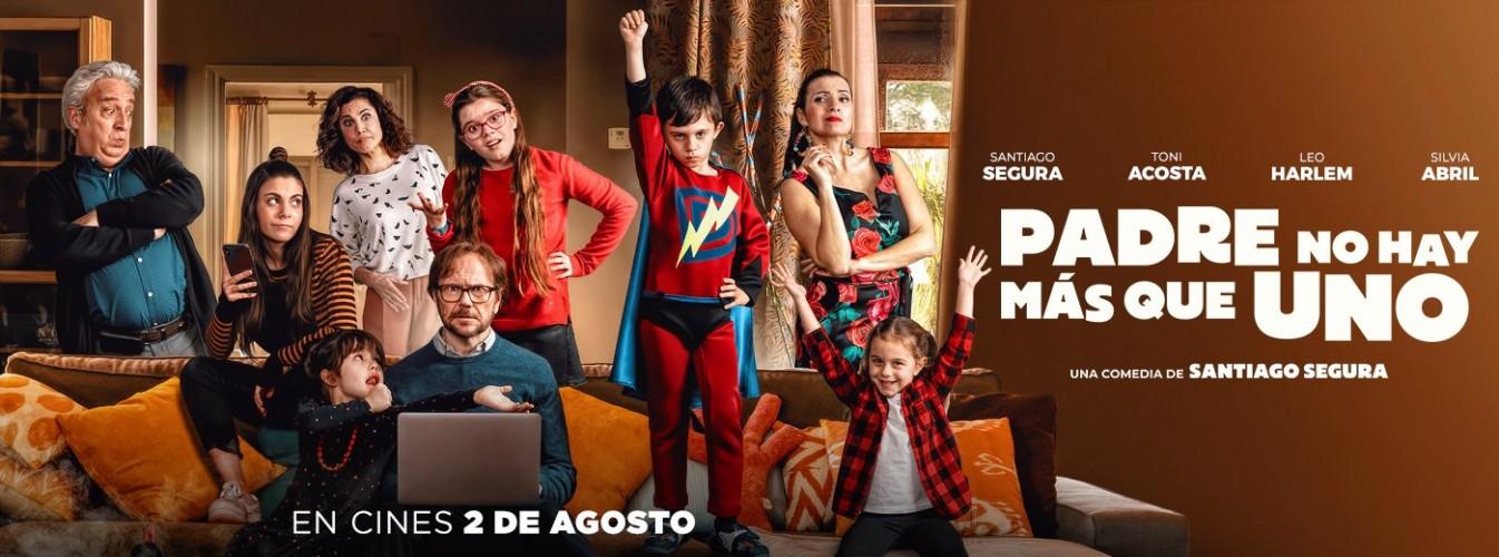 Película destacada Padre no hay más que uno en Cines Cristal de Lugo