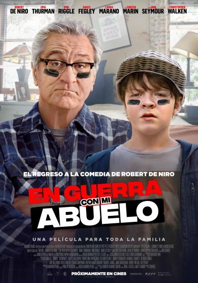 Película En guerra con mi abuelo próximamente en Cines Cristal de Lugo