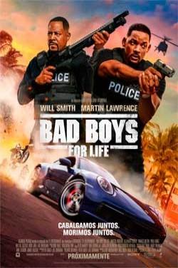 Película Bad Boys for life hoy en cartelera en Cines Cristal de Lugo