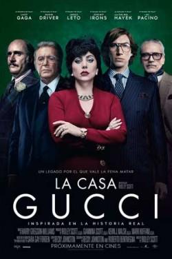 Película La casa Gucci próximamente en Cines Cristal de Lugo