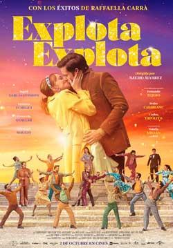 Película Explota explota en Cines Cristal Lugo