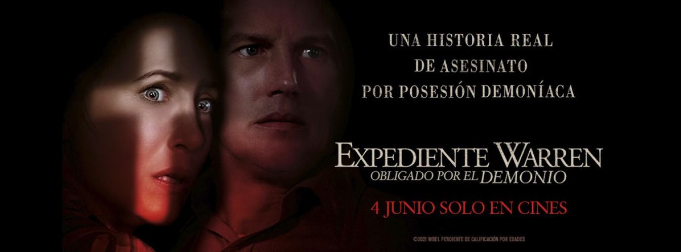 Película destacada Expediente Warren: Obligado por el demonio en Cines Cristal de Lugo