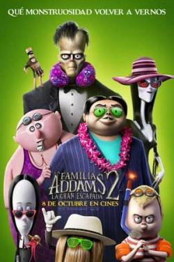 Película La familia Addams 2 en Cines Cristal Lugo