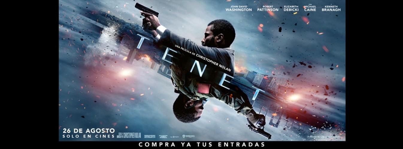 Película destacada Tenet en Cines Cristal de Lugo