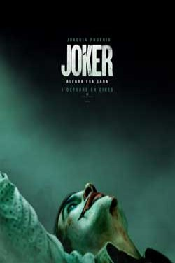 Película Joker (V.O.S.E.) hoy en cartelera en Cines Cristal de Lugo