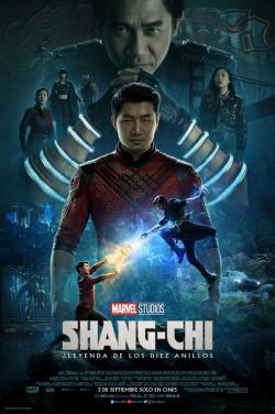 Película Shang-Chi y la leyenda de los diez anillos en Cines Cristal Lugo
