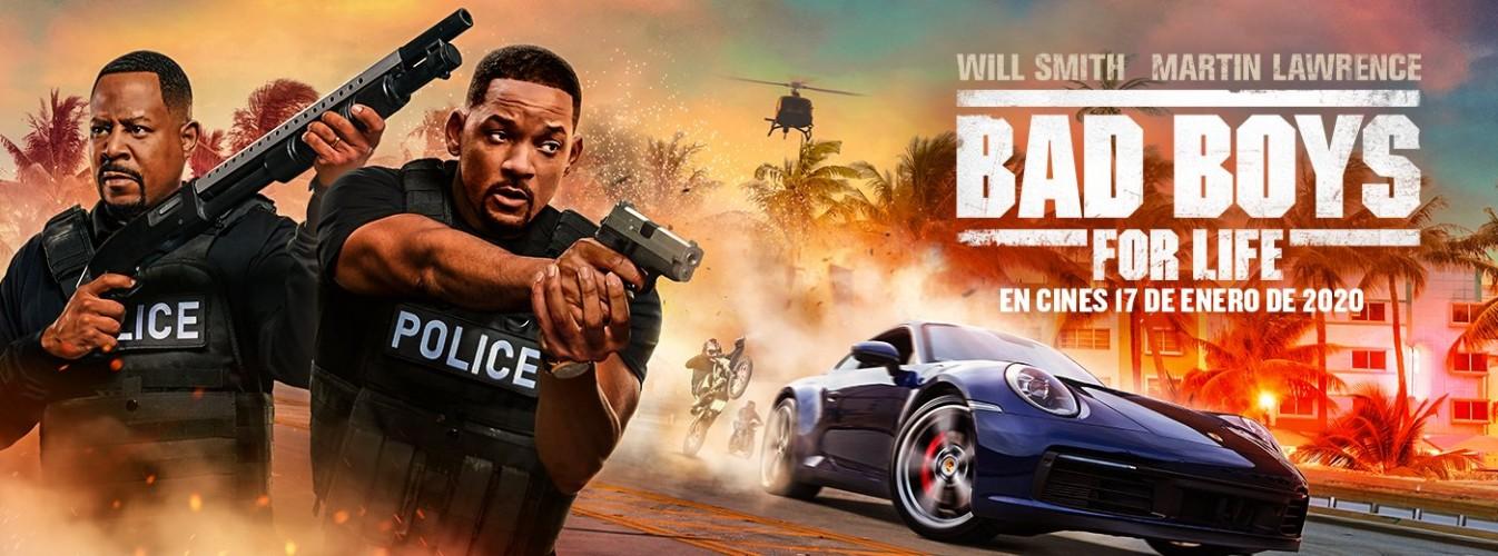 Película destacada Bad Boys for life en Cines Cristal de Lugo