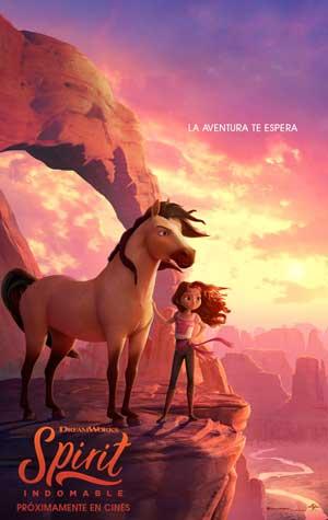 Película Spirit Indomable próximamente en Cines Cristal de Lugo