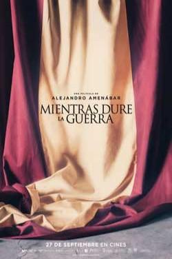 Película Mientras dure la guerra hoy en cartelera en Cines Cristal de Lugo