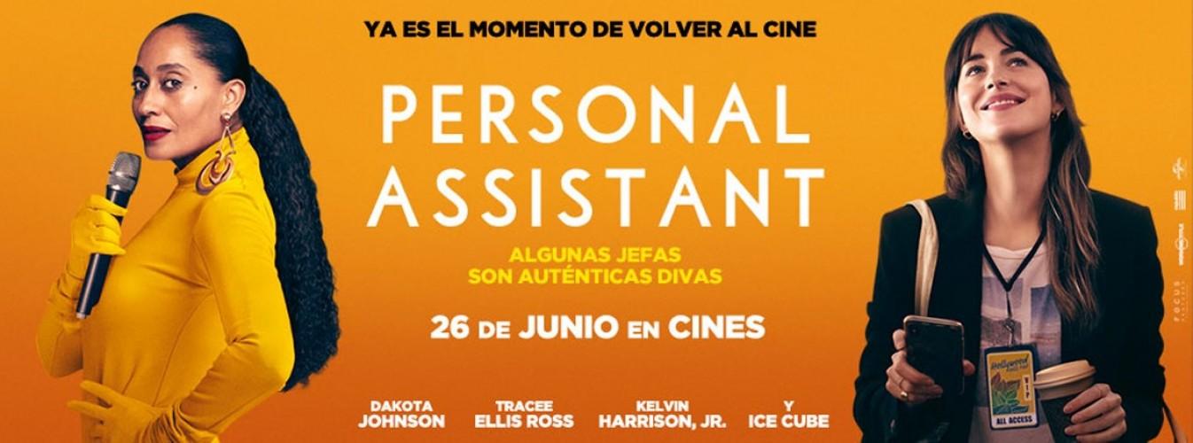 Película destacada Personal assistant en Cines Cristal de Lugo