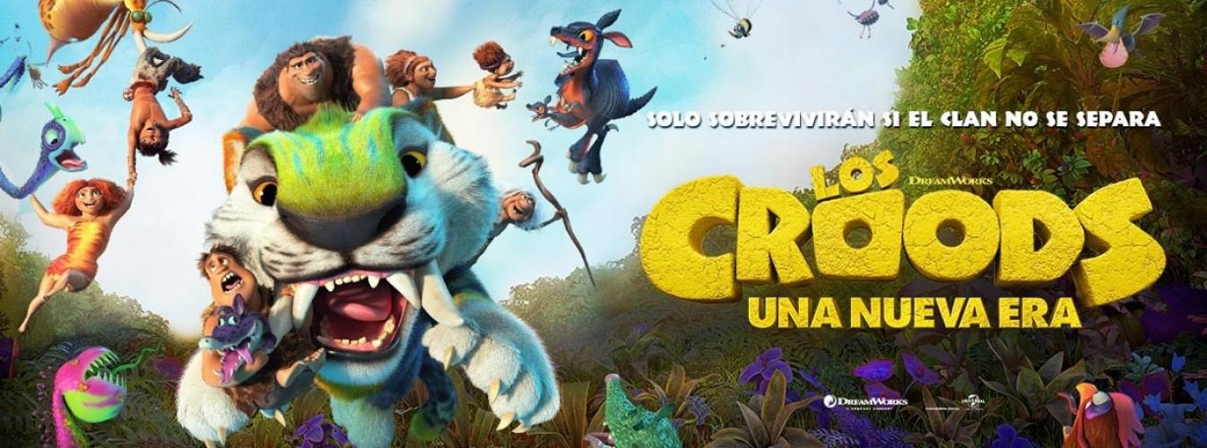 Película destacada Los croods: Una nueva era en Cines Cristal de Lugo
