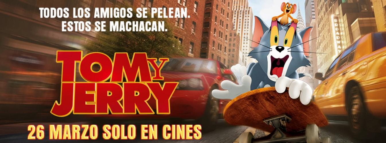 Película destacada Tom y Jerry en Cines Cristal de Lugo