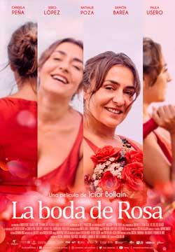 Película La boda de Rosa en Cines Cristal de Lugo