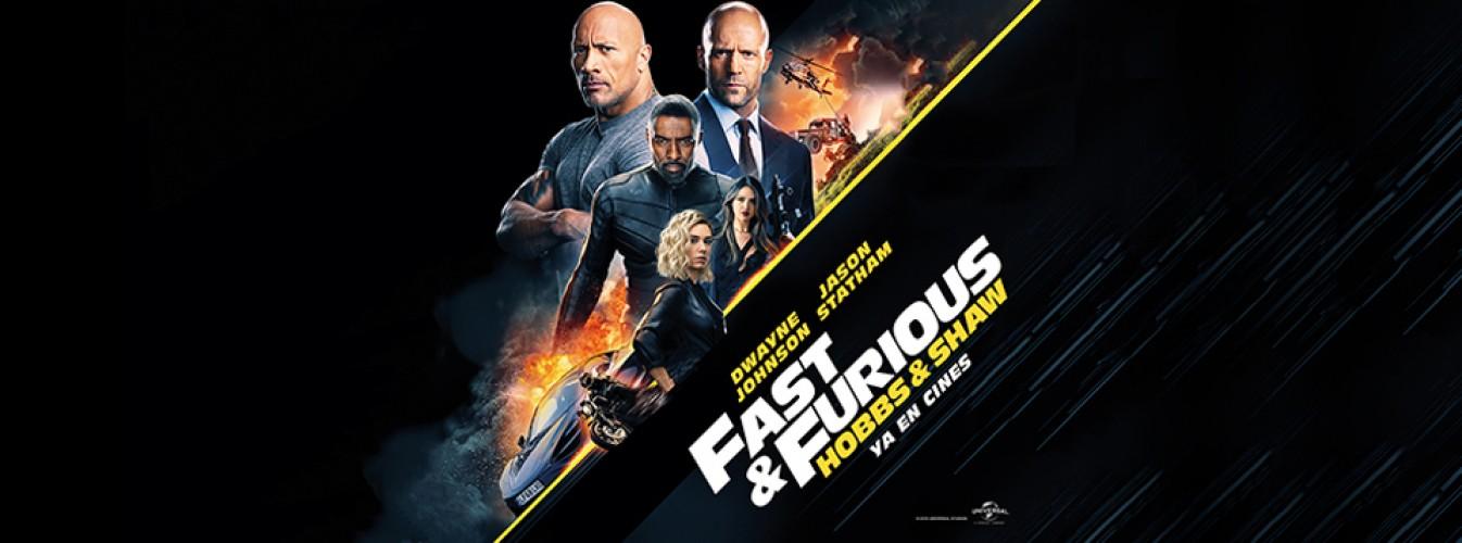 Película destacada Fast & Furious presents: Hobbs & Shaw en Cines Cristal de Lugo