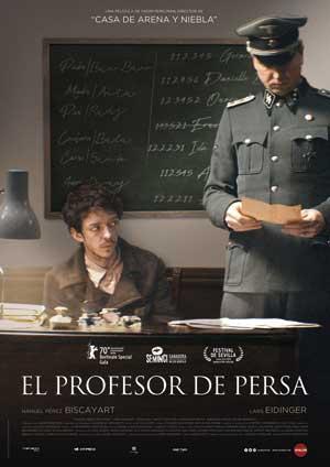 Película El profesor de persa en Cines Cristal de Lugo