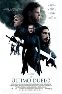 Entradas película El último duelo ya a la venta en Cines Cristal de Lugo