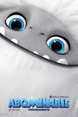 Película Abominable hoy en cartelera en Cines Cristal de Lugo