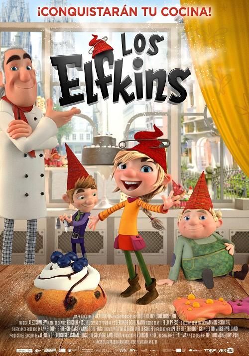 Película Los Elfkins hoy en cartelera en Cines Cristal de Lugo
