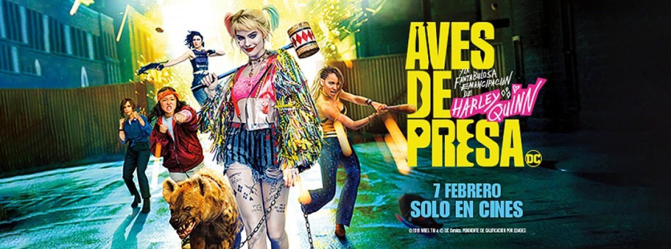 Película destacada Aves de presa (y la fantabulosa emancipación de Harley Quinn) en Cines Cristal de Lugo
