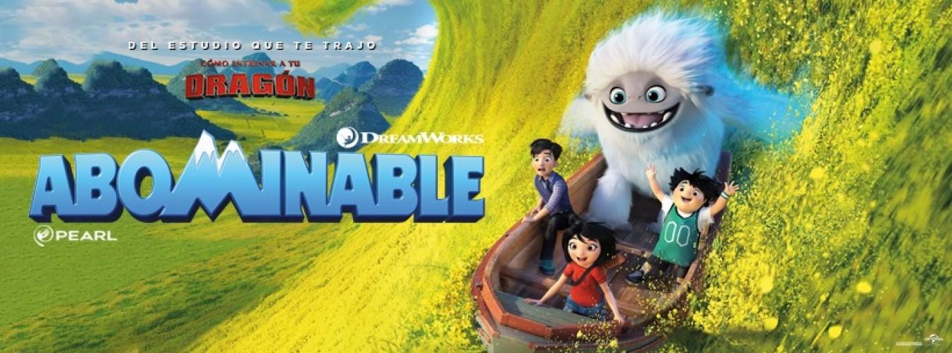Película destacada Abominable en Cines Cristal de Lugo
