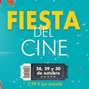 Promoción Fiesta del cine. Días 28, 29 y 30. Precio 2,90€ en Cines Cristal de Lugo