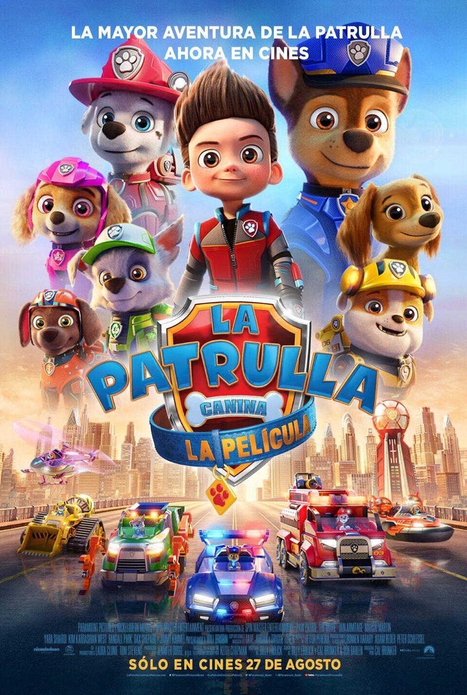 Película La patrulla canina: La película en Cines Cristal Lugo