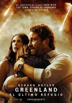 Película Greenland: El último refugio hoy en cartelera en Cines Cristal de Lugo