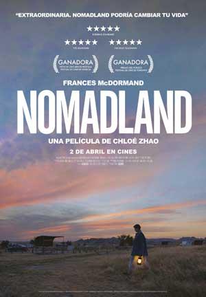 Película Nomadland hoy en cartelera en Cines Cristal de Lugo