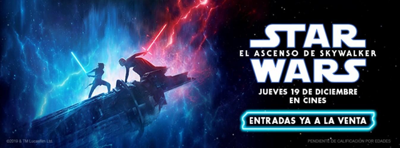 Película destacada Star Wars: El ascenso de Skywalker en Cines Cristal de Lugo