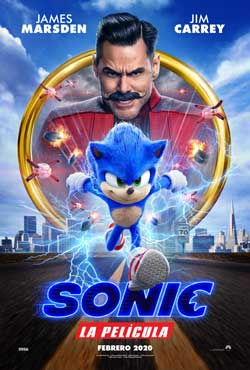 Película Sonic la película en Cines Cristal de Lugo