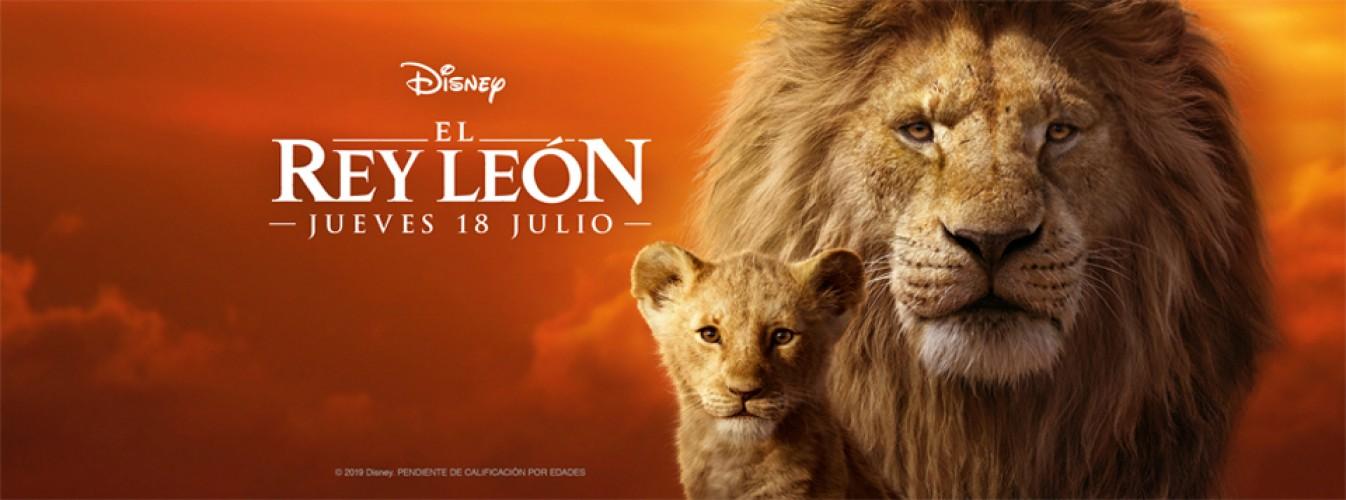 Película destacada El rey león en Cines Cristal de Lugo