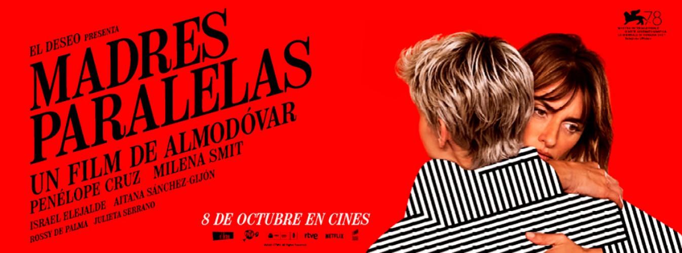 Película destacada Madres paralelas en Cines Cristal de Lugo