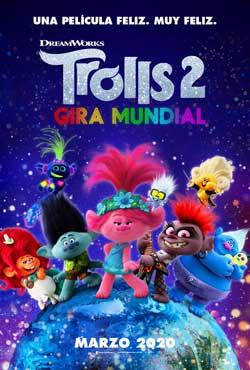 Película Trolls 2 - Gira mundial hoy en cartelera en Cines Cristal de Lugo