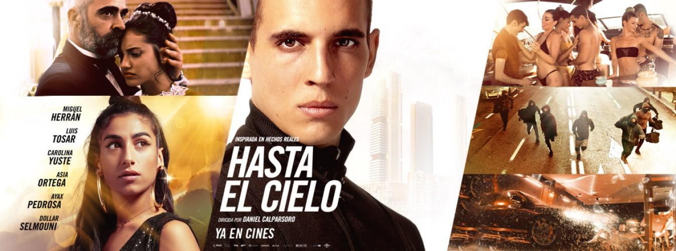 Película destacada Hasta el cielo en Cines Cristal de Lugo