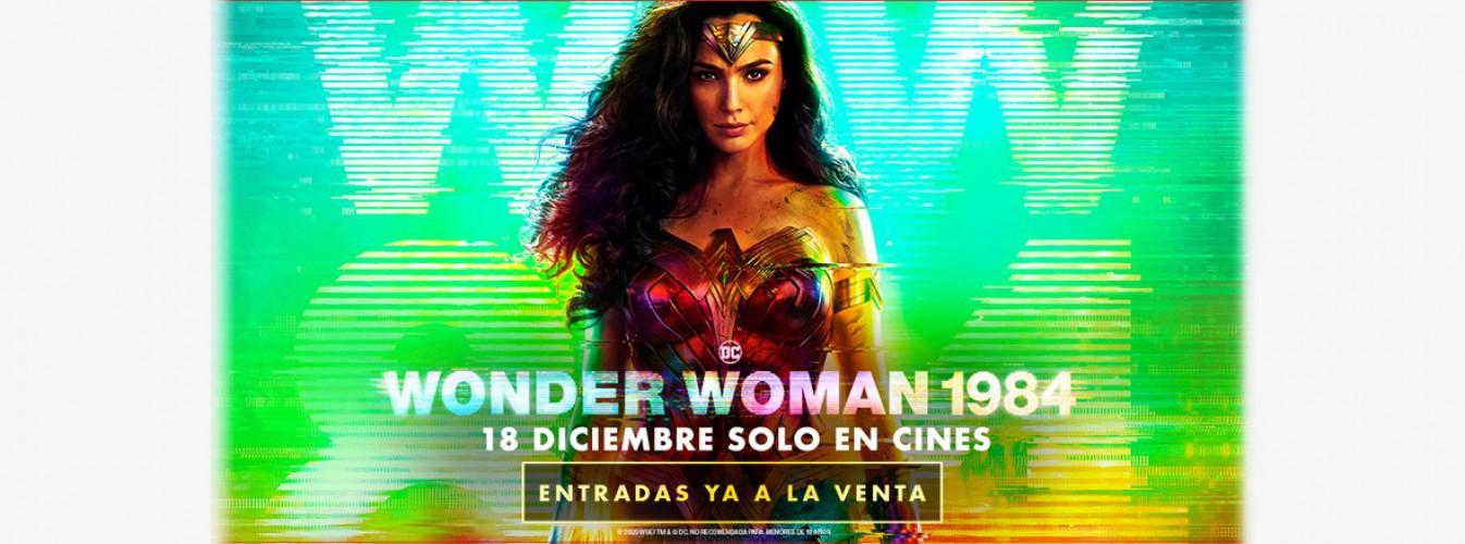 Película destacada Wonder Woman 1984 en Cines Cristal de Lugo