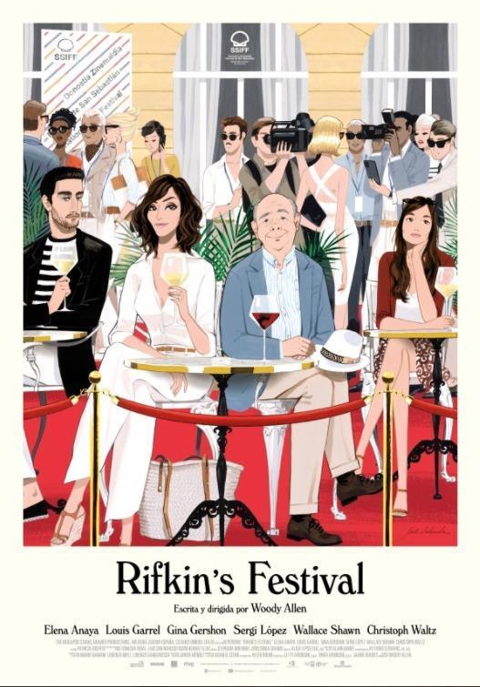 Película Rifkin's festival en Cines Cristal Lugo