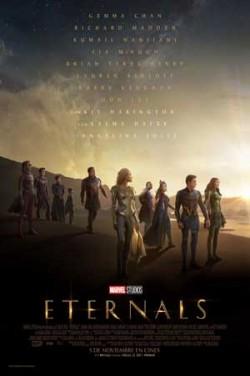 Película Eternals. próximamente en Cines Cristal de Lugo
