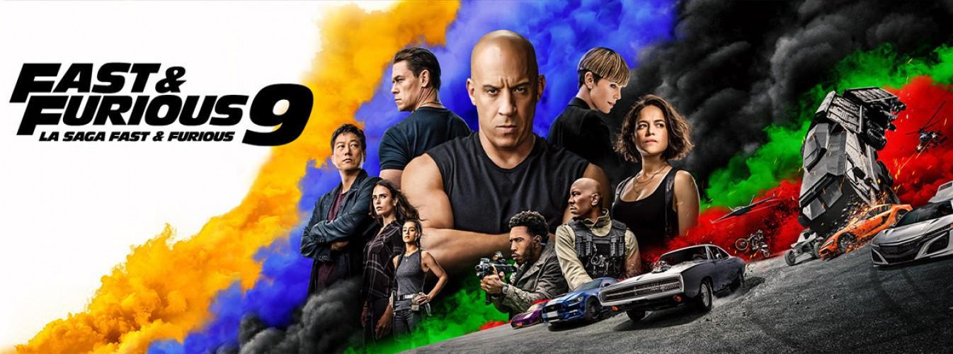 Película destacada Fast & Furious 9 en Cines Cristal de Lugo