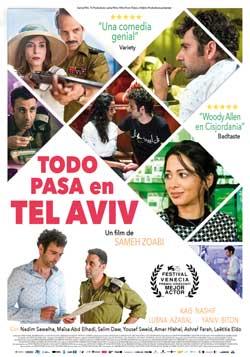 Película Todo pasa en Tel Aviv en Cines Cristal de Lugo